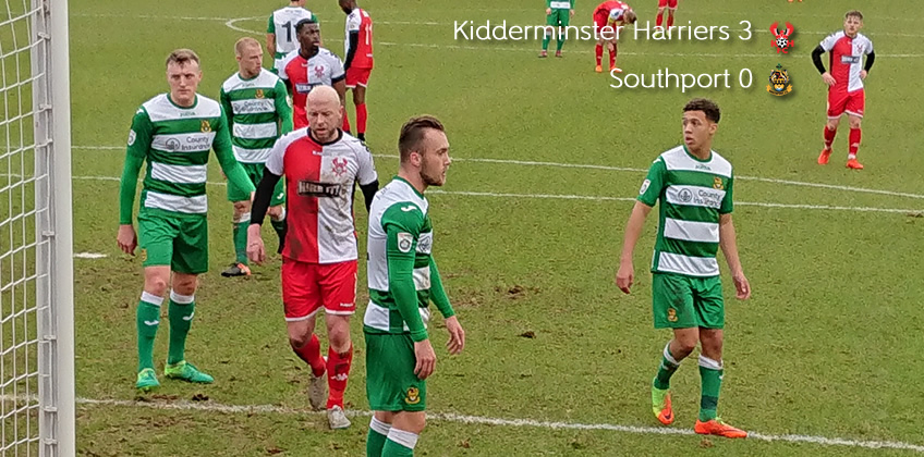 Harriers 3-0 Southport