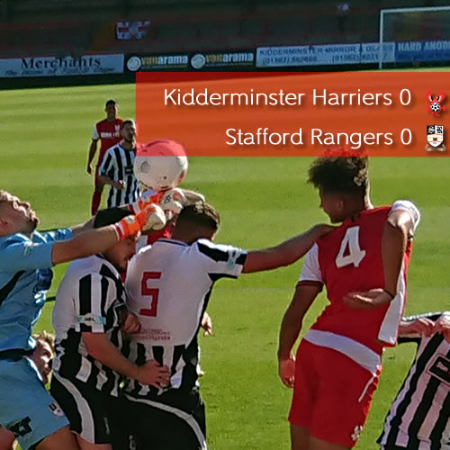Goalless In Cup: Harriers 0-0 Stafford Rangers