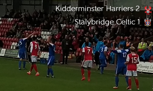 First Home Win For 10-man Reds: Harriers 2-1 Stalybridge