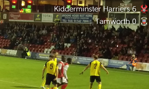 Harriers Six-Shooters Slaughter Lambs: Harriers 6-0 Tamworth