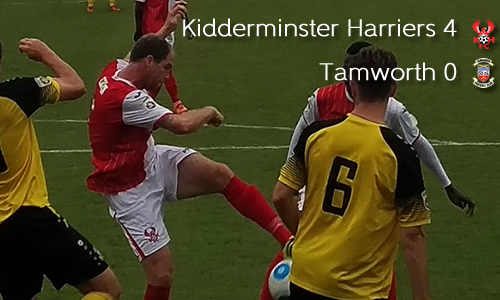 Harriers Cruise To Second Lambs Victory: Harriers 4-0 Tamworth