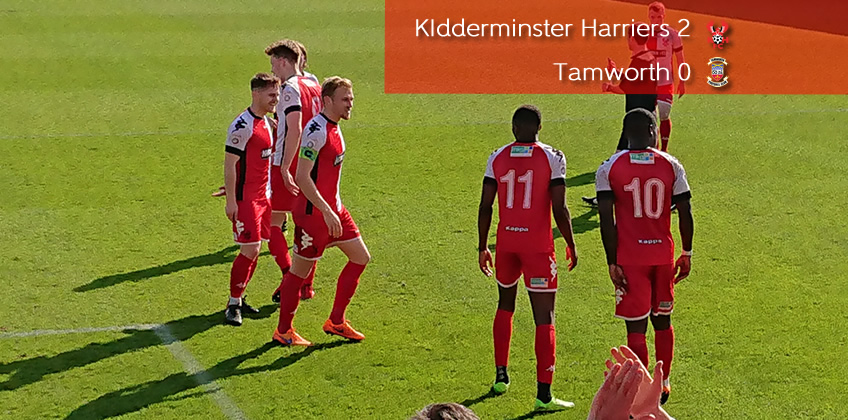 Play-Off Spot Clinched: Harriers 2-0 Tamworth