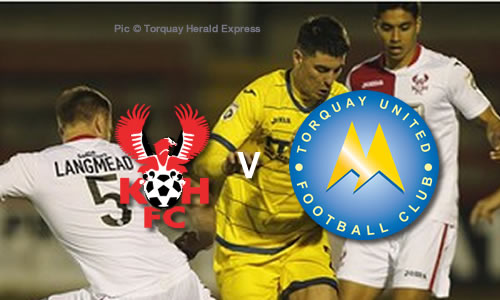 Harriers Get Out Of Jail: Harriers 2-2 Torquay United