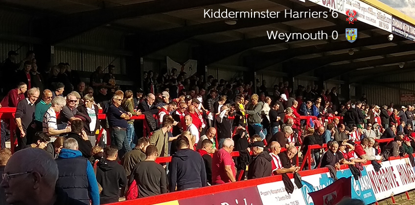 Harriers Comfortably Through Cup Test: Harriers 6-0 Weymouth