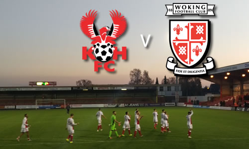A Win At Last: Harriers 1-0 Woking