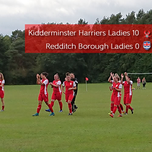 Ladies Begin Cup Defence In Style: Harriers Ladies 10-0 Redditch Borough Ladies