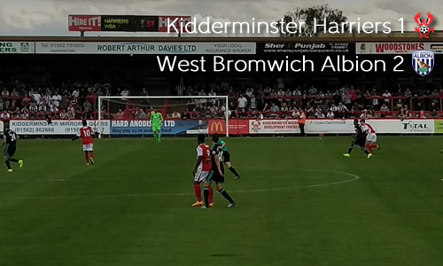 Berahino Double Edges Close Encounter: Harriers 1-2 WBA