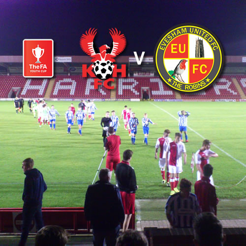 Youths Progress In FA Youth Cup: Harriers Youth 7-0 Evesham United Youth