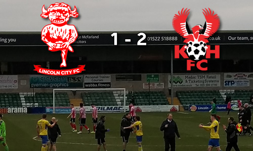 Harriers Not Dead Yet: Lincoln City 1-2 Harriers