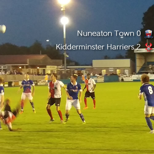 Comfortable Win For Harriers: Nuneaton Town 0-2 Harriers