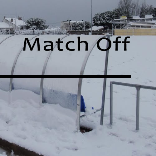 Chorley Match Postponed