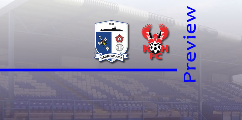 Preview: Barrow v Harriers