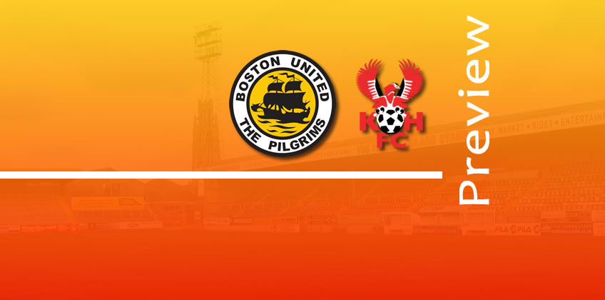 Preview: Boston United v Harriers