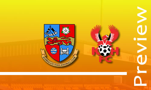 Preview: Harrogate Town v Harriers