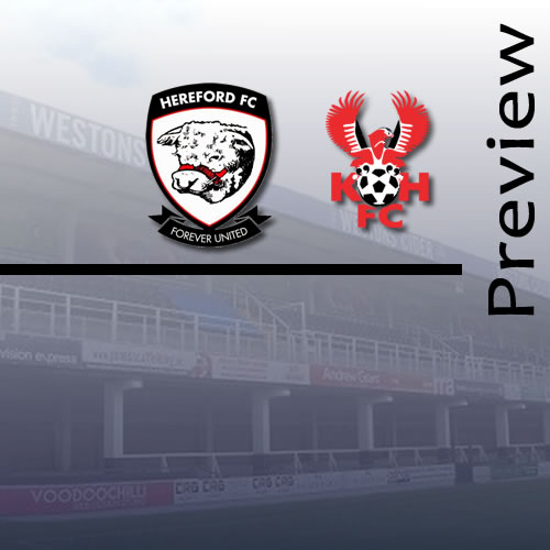 Preview: Hereford v Harriers