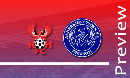 Preview: Harriers v Aldershot Town