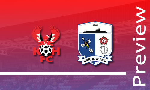 Preview: Harriers v Barrow