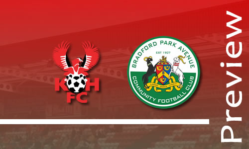 Preview: Harriers v Bradford Park Avenue