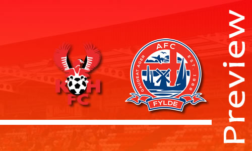 Preview: Harriers v AFC Fylde