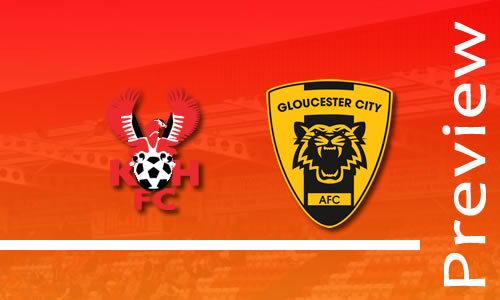 Preview: Harriers v Gloucester City