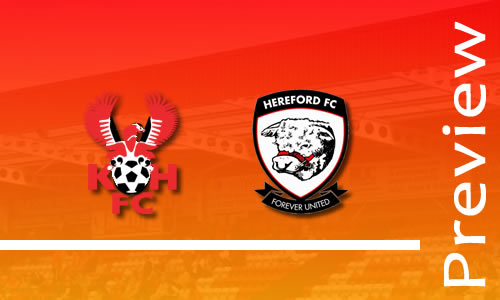 Preview: Harriers v Hereford