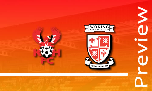 Preview: Harriers v Woking
