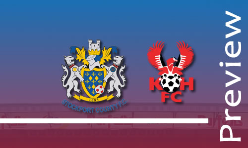 Preview: Stockport County v Harriers