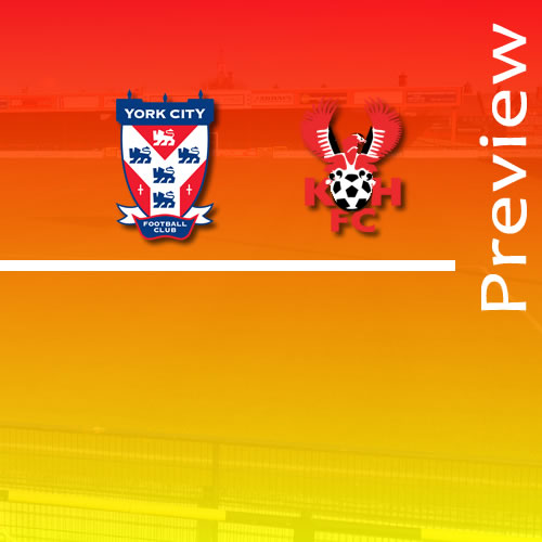 Preview: York City v Harriers