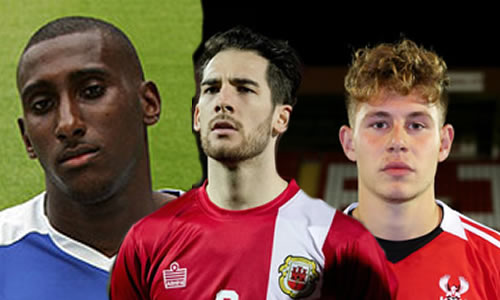 Three Players Head Out Of Aggborough