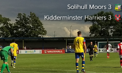 All-Square In Six-Goal Thriller: Solihull Moors 3-3 Harriers