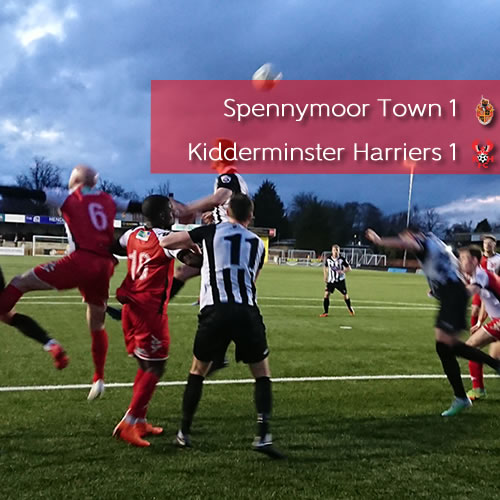 Penalty Denies Harriers A Win: Spennymoor Town 1-1 Harriers
