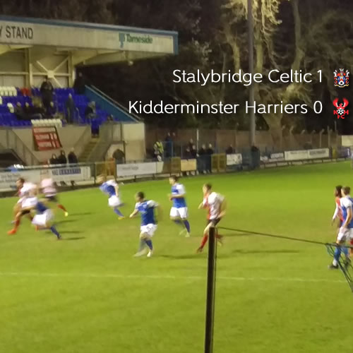 Harriers Waste Another Opportunity: Stalybridge Celtic 1-0 Harriers