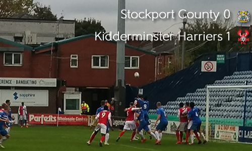 Croasdale Strike Lifts Harriers to Third: Stockport County 0-1 Harriers