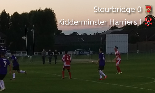 Young Harriers Through In Senior Cup: Stourbridge 0-1 Harriers