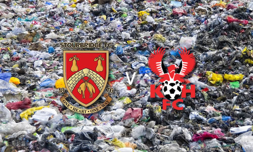 Utter Garbage: Stourbridge 3-0 Harriers