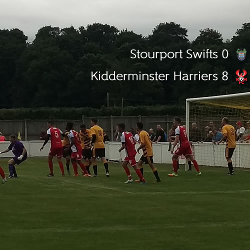 Swifts Blown Away: Stourport Swifts 0-8 Harriers