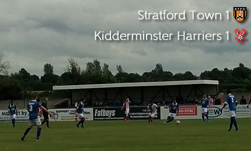 Pre-Season Underway With Draw: Stratford Town 1-1 Harriers