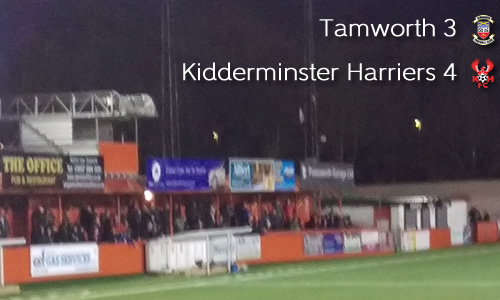 Skipper Grabs Dramatic Winner: Tamworth 3-4 Harriers