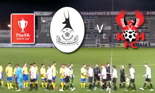 Young Harriers Out Of Youth Cup: AFC Telford Youth 2-1 Harriers Youth