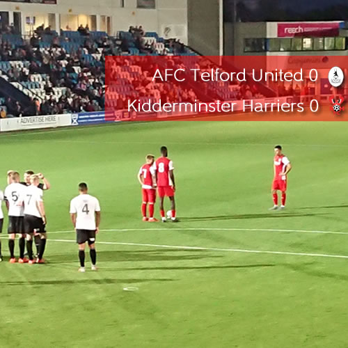 Derby Disappointment For Harriers: AFC Telford United 2-0 Harriers
