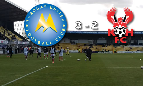 The End Gets Nearer: Torquay United 3-2 Harriers