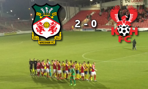 Lacklustre Harriers Back On Bottom: Wrexham 2-0 Harriers